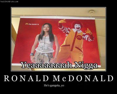ronald-mcdonald-is-gangsta