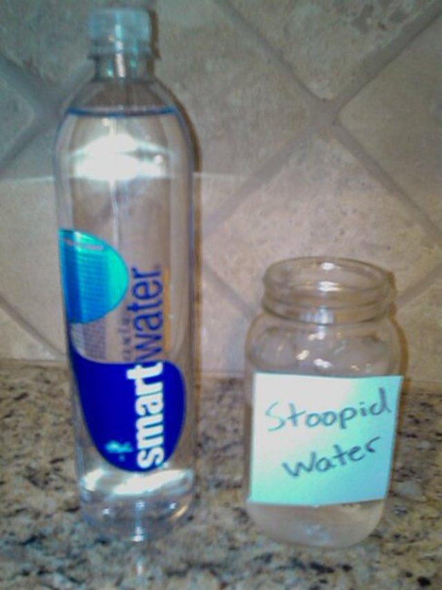 Stoopid water