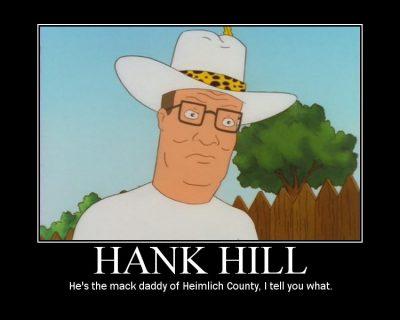 hank hill pimp