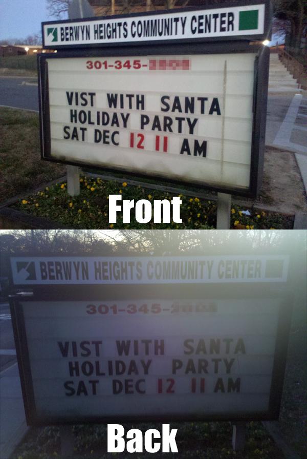 vist with santa